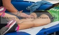 How to prevent sciatica