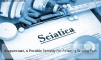 Acupuncture for relieving sciatica