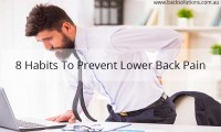 8 habits to prevent lower back pain