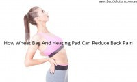 wheat bag and heating pad for back pain